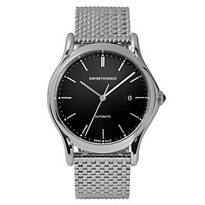 Emporio Armani Swiss Made men's steel bracelet watch - Product number 2018063