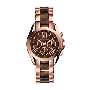 Michael Kors ladies' two colour bracelet watch - Product number 2018292
