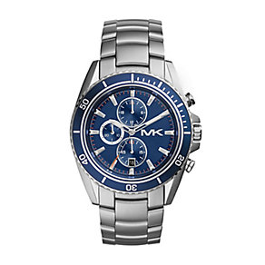Michael Kors men's stainless steel chronograph watch - Product number 2018306