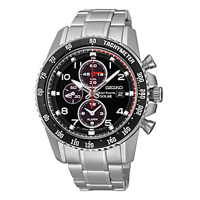 Seiko Sport men's chronograph stainless steel bracelet watch - Product number 2018888