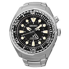 Seiko Kinetic men's stainless steel bracelet watch - Product number 2019035