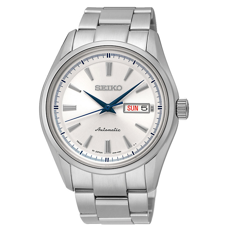 Seiko men's stainless steel bracelet watch - Product number 2019094