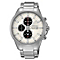 Seiko Solar Chronograph men's stainless steel bracelet watch - Product number 2019124