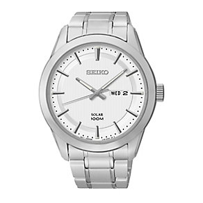 Seiko men's stainless steel Dress bracelet watch - Product number 2019183