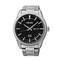 Seiko men's stainless steel Dress bracelet watch - Product number 2019191