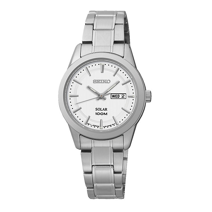 Seiko ladies' stainless steel Dress bracelet watch - Product number 2019213