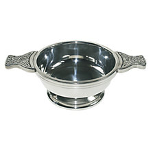 Celtic Design Standard Pewter Quaich - Product number 2019973