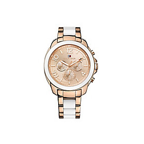 Tommy Hilfiger Ladies' Rose Gold-Plated Bracelet Watch - Product number 2023547