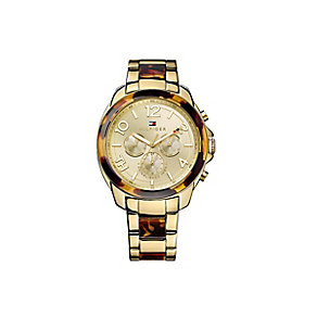 Tommy Hilfiger Ladies' Gold-Plated Bracelet Watch - Product number 2023555