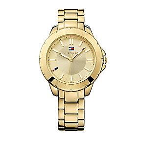 Tommy Hilfiger Ladies' Gold-Plated Bracelet Watch - Product number 2023601