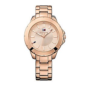 Tommy Hilfiger Ladies' Rose Gold-Plated Bracelet Watch - Product number 2023636