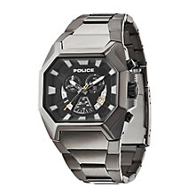 Police Men's Gunmetal Grey Ion-Plated Bracelet Watch - Product number 2023725