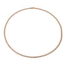"9ct Rose Gold 18"" Anchor Chain - Product number 2024551"
