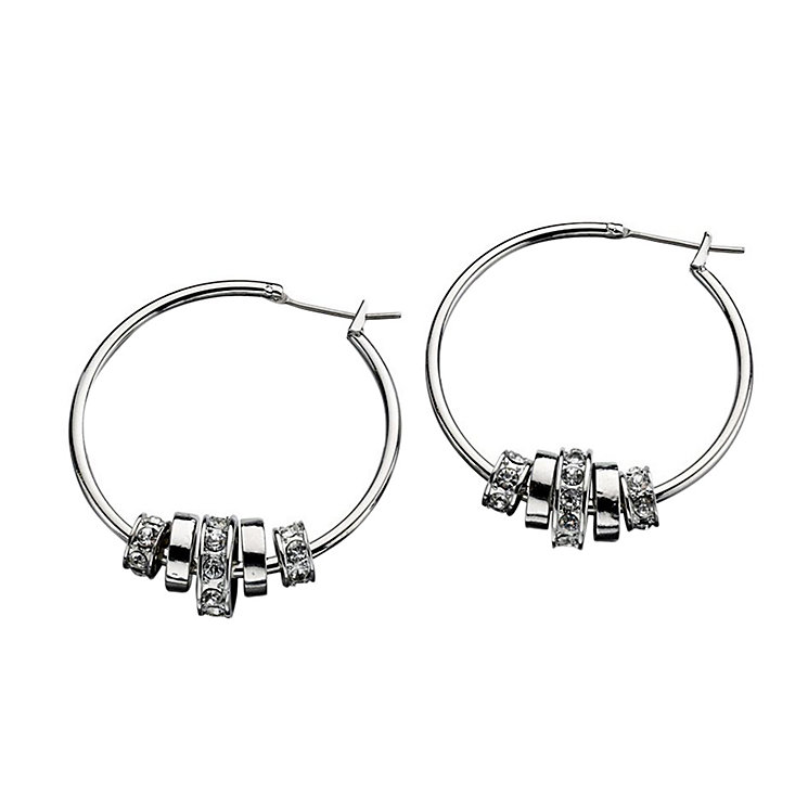 Fiorelli Multi Ring Bead Hoop Earrings - Product number 2024616