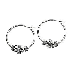 Fiorelli Multi Ring Bead Hoop Earrings - Product number 2024616