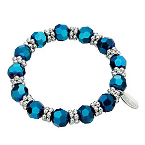 Fiorelli Blue Bead Station Bracelet - Product number 2024640