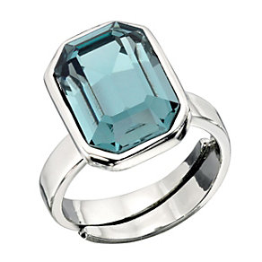Fiorelli Indian Sapphire Swarovski Element Cocktail Ring - Product number 2024667