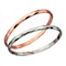 Fiorelli Rose Gold-Plated and Rhodium Double Bangle Set - Product number 2024829