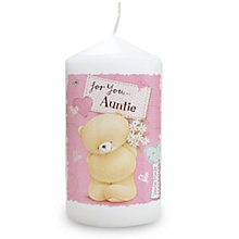 Personalised Forever Friends Candle -  Pink Craft Design - Product number 2032554