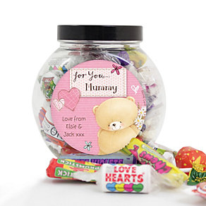Personalised Forever Friends Sweets -  Pink Craft Design - Product number 2032562
