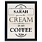 Personalised 'Cream in my Coffee' Framed Print - Product number 2032619