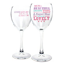 Personalised Wine Glass - 'She Is…' Design - Product number 2032643