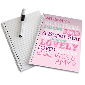 Personalised A5 Notebook - 'She Is…' Design - Product number 2032651