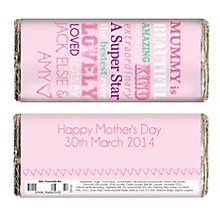 Personalised Chocolate Bar - 'She Is…' Design - Product number 2032678