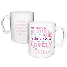 Personalised Mug - 'She Is…' Design - Product number 2032694