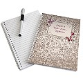 Personalised A5 Notebook - Butterfly Gem Design - Product number 2032945