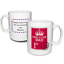 Personalised First Class Mug - Product number 2034530