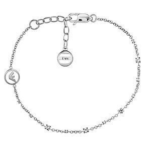 Emporio Armani sterling silver stone set chain bracelet - Product number 2035677