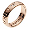 Emporio Armani Rose Gold Tone Stone Set Eagle Ring N - Product number 2035723
