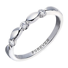 9ct White Gold 0.15 Carat Forever Diamond Ring - Product number 2036835