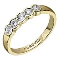 The Forever 18ct Yellow Gold � Carat Diamond Eternity Ring - Product number 2037939