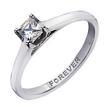 Palladium 0.28 Carat Forever Diamond Ring - Product number 2038218