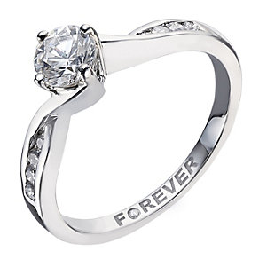 The Forever Diamond Palladium Half Carat Solitaire - Product number 2039168