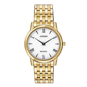 Citizen men's gold-plated bracelet watch - Product number 2039338