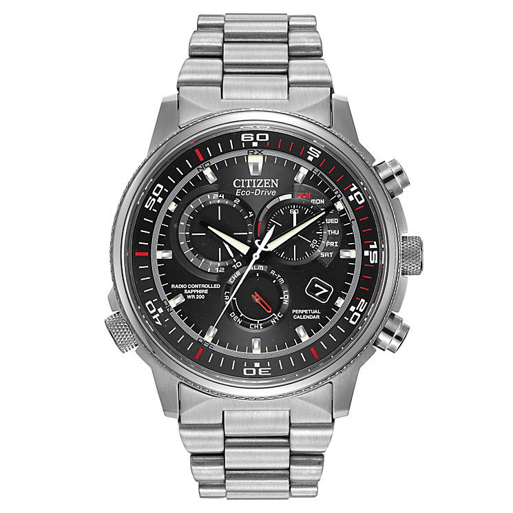 Citizen Eco-Drive Nighthawk men's chronograph watch - Product number 2039664
