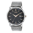 Citizen Eco-Drive men's stainless steel mesh bracelet watch - Product number 2039672