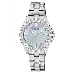 Citizen Eco-Drive ladies' stainless steel bracelet watch - Product number 2039931