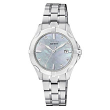 Citizen Eco-Drive Ladies' Stainless Steel Bracelet Watch - Product number 2039966