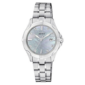 Citizen Eco-Drive ladies' gold-plated bracelet watch - Product number 2039966