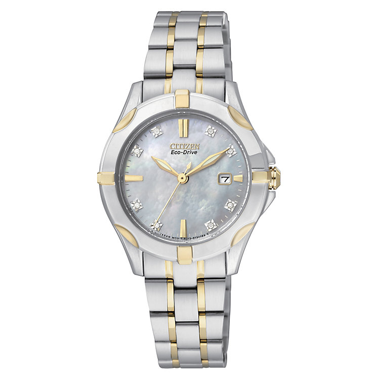 Citizen Eco-Drive Ladies' Stainless Steel Bracelet Watch - Product number 2039974