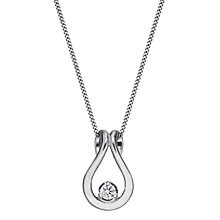 9ct White Gold Forever Diamond Pendant - Product number 2040026