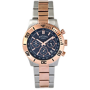 Rotary Men's Chronograph Two Tone Bracelet Watch - Product number 2046121