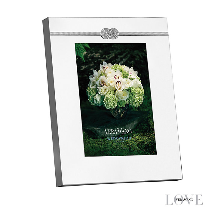 "Wedgwood Vera Wang Infinity 5 x 7"" photo frame - Product number 2046253"