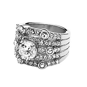 Dyrberg Kern Aya II Stainless Steel Crystal Ring Medium - Product number 2048809
