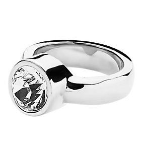 Dyrberg Kern Cyrielle II Stainless Steel Crystal Ring Medium - Product number 2048914