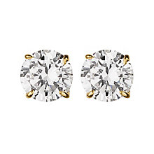 Dyrberg Kern Nene Gold-Plated Crystal Stud Earrings - Product number 2049007